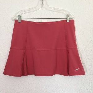 NIKE Pink Tennis skirt / skort Dri-fit. Medium